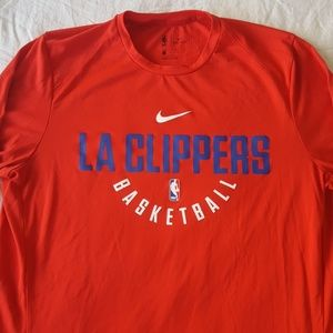 2f3612a10 Nike Shirts - Nike Team Issue Dri Fit LA Clippers Long Sleeve